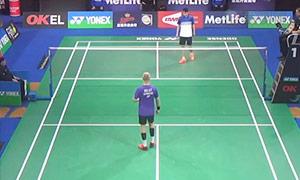魏楠VS霍尔斯特 2015丹麦公开赛 男单1/16决赛视频