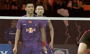 李龙大/柳延星VS傅海峰/张楠 2015丹麦公开赛 男双半决赛视频