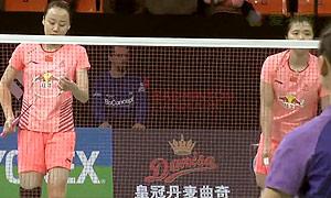 田卿/赵芸蕾VS马晋/唐渊渟 2015丹麦公开赛 女双半决赛视频