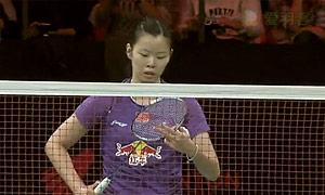 李雪芮VS王适娴 2015丹麦公开赛 女单1/4决赛视频