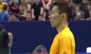李宗伟VS王睁茗 2015法国公开赛 男单半决赛明仕亚洲官网