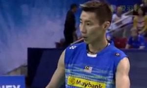 李宗伟VS周天成 2015法国公开赛 男单决赛明仕亚洲官网