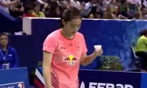马琳VS王适娴 2015法国公开赛 女单决赛视频