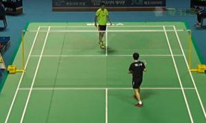 石宇奇VS严钟宇 2015韩国黄金赛 男单资格赛明仕亚洲官网