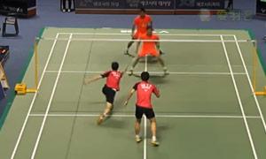 李龙大/柳延星VS黄凯祥/王斯杰 2015韩国黄金赛 男双1/8决赛视频