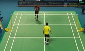 李炫一VS许侊熙 2015韩国黄金赛 男单1/4决赛明仕亚洲官网