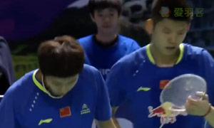 高成炫/申白喆VS李俊慧/刘雨辰 2015韩国黄金赛 男双半决赛明仕亚洲官网