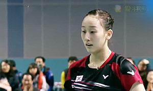 张艺娜/李绍希VS郑景银/申升瓒 2015韩国黄金赛 女双决赛明仕亚洲官网