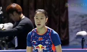 佐藤冴香VS孙瑜 2015韩国黄金赛 女单决赛视频