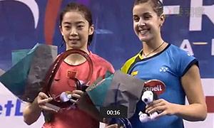 2015法国羽毛球公开赛决赛精彩瞬间