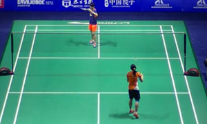 戴资颖VS蔡炎炎 2015中国公开赛 女单1/16决赛明仕亚洲官网