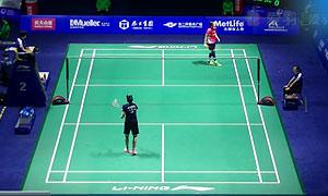内维尔VS郑清亿 2015中国公开赛 女单1/8决赛视频