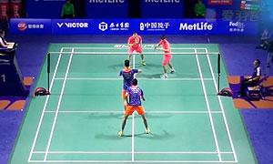 柴飚/洪炜VS黄凯祥/王斯杰 2015中国公开赛 男双1/8决赛视频