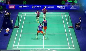 李俊慧/刘雨辰VS李龙大/柳延星 2015中国公开赛 男双1/8决赛视频