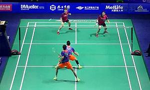 高成炫/申白喆VS李俊慧/刘雨辰 2015中国公开赛 男双1/4决赛视频