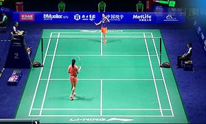 李雪芮VS王适娴 2015中国公开赛 女单半决赛视频