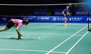 2015中国羽毛球公开赛女单决赛精彩瞬间