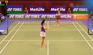 山口茜VS布桑兰 2015香港公开赛 女单1/16决赛视频