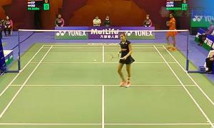 马琳VS辛德胡 2015香港公开赛 女单1/16决赛视频