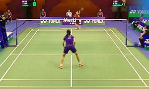 【精彩瞬间】香港公开赛 李雪芮VS奥原希望 女单首轮