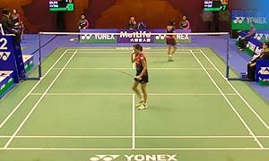 【精彩瞬间】香港公开赛 蓬迪VS大堀彩 女单首轮