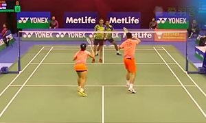 徐晨/马晋VS苏巴蒂亚/维德佳佳 2015香港公开赛 混双1/8决赛视频