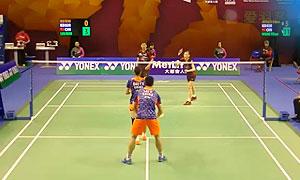 刘成/包宜鑫VS高成炫/金荷娜 2015香港公开赛 混双1/4决赛视频