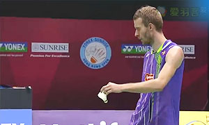 鲍伊/摩根森VS阿山/塞蒂亚万 2015香港公开赛 男双半决赛视频