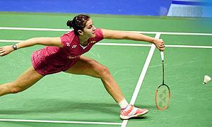 马琳VS奥原希望 2015香港公开赛 女单决赛视频