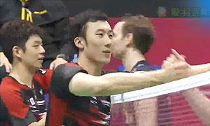 【精彩瞬间】李龙大柳延星VS摩根森鲍伊