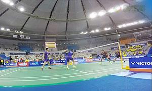 【低视角】张楠/傅海峰VS催率圭/金载涣 2015韩国公开赛