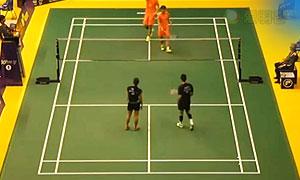 刘雨辰/李茵晖VS陈润龙/谢影雪 2015澳门公开赛 混双1/4决赛视频