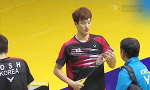 高成炫/申白喆VS伊万诺夫/索松诺夫 2015澳门公开赛 男双半决赛视频