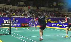 【精彩瞬间】高成炫/申白喆VS安格里亚万/萨普特拉 男双决赛