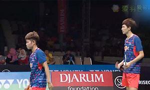 艾哈迈德/纳西尔VS李俊慧/黄东萍 2015印尼大师赛 混双半决赛视频