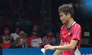 艾哈迈德/纳西尔VS乔丹/苏珊托 2015印尼大师赛 混双决赛视频