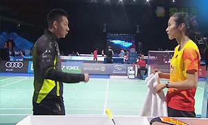 王仪涵VS因达农 2015世界羽联总决赛 女单小组赛视频