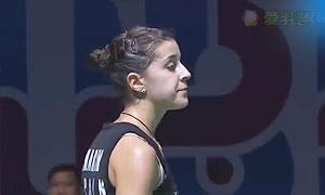 内维尔VS马琳 2015世界羽联总决赛 女单小组赛视频
