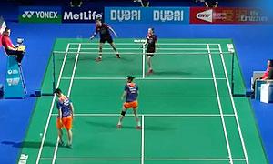高成炫/金荷娜VS刘成/包宜鑫 2015世界羽联总决赛 混双小组赛视频
