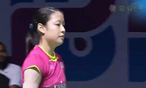 奥原希望VS马琳 2015世界羽联总决赛 女单小组赛视频