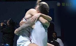 爱德考克/加布里VS高成炫/金荷娜 2015世界羽联总决赛 混双决赛视频