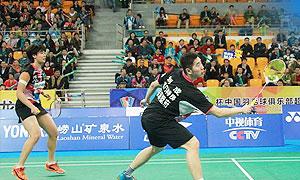 刘成/唐渊渟VS康骏/成淑 2016中国羽超联赛 混双小组赛第2轮视频