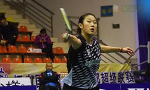 孙瑜VS何冰娇 2016中国羽超联赛 女单第4轮视频