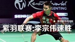 大马紫羽联赛:李宗伟助阵 灵市6连胜