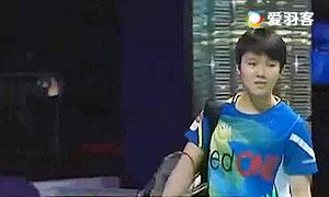 吴堇溦VS郑清亿 2015紫盟联赛 沙登VS甲洞 女单比赛视频