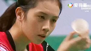 大堀彩VS武氏庄 2015紫盟联赛 女单小组赛视频