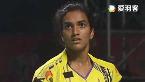辛德胡VS图拉西 2016印度超级联赛 女单半决赛视频