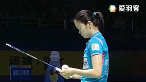 李雪芮VS孙瑜 2016中国羽超联赛 女单决赛视频