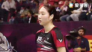 成池铉VS金达汶 2016印度羽毛球黄金赛 女单半决赛视频