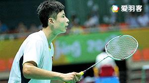 石宇奇VS丹尼 2016印度羽毛球黄金赛 男单1/4决赛视频